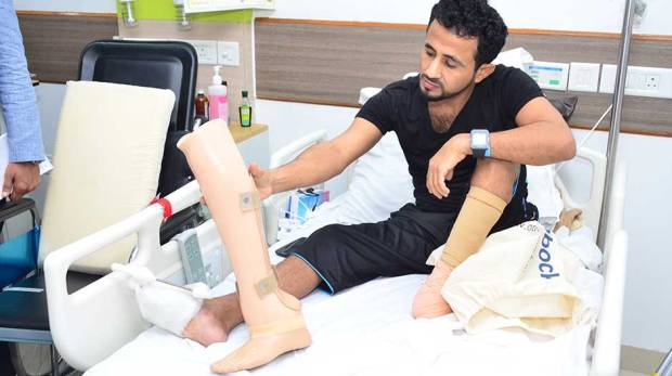 Artificial limbs give Yemenis new lease of life