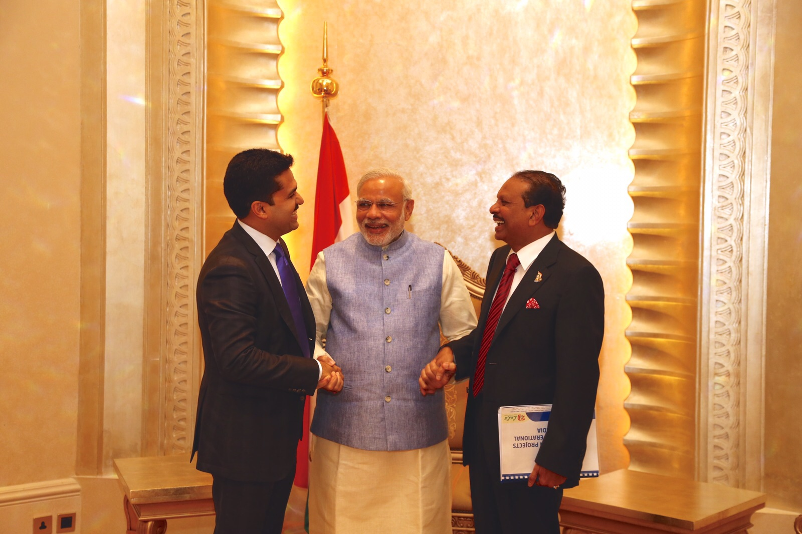 With Shri Narendra Modi, 14th Prime Minister of the Republic of India